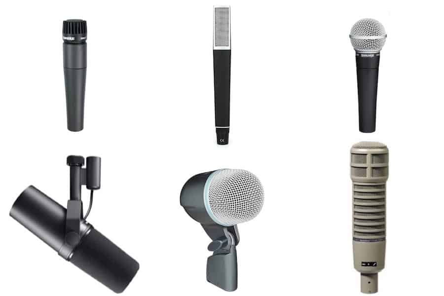 Moving Coil Mics